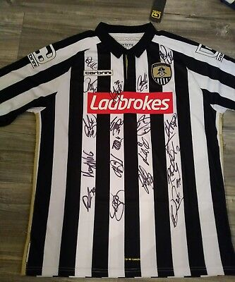 Signed Notts County Shirt. Adults XL Brand New Signed by the NEW 2017/18 Squad
