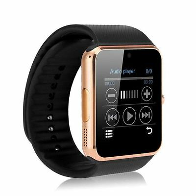 GT08 Reloj Bluetooth GSM Inteligente VER Android IOS iPhone Samsung WhatsApp ORO