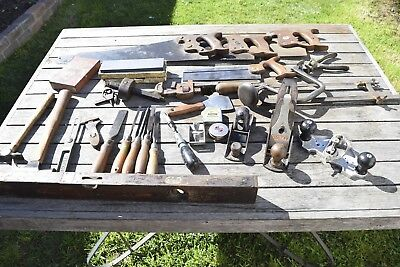 Vintage Stanley ,Titan , Disston  Woodworking Old Tools