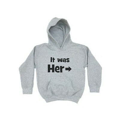 It was her KIDS HOODIE Childrens Girls Boys Clothing Gift Birthday Present