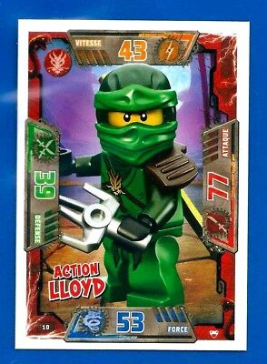 ACTION // ABANDON ★ CARTE LEGO NINJAGO N° 139 VF NEUF !!