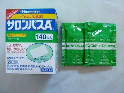 SALONPAS PAIN RELIEVING PATCHES - 2 Pack 40 patches Expiry 8/2020 Made in Japan