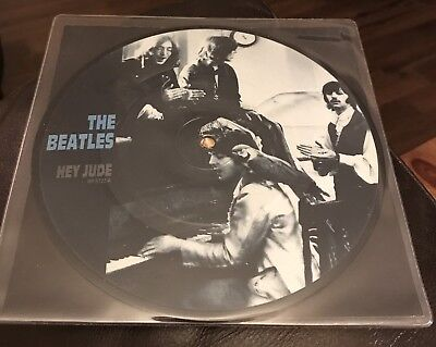 "The Beatles - Hey Jude  - Rare 7"" Picture Disc Vinyl"