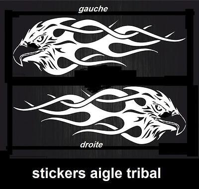 stickers sticker aigle tribal voiture tuning moto-choi Taill couleur