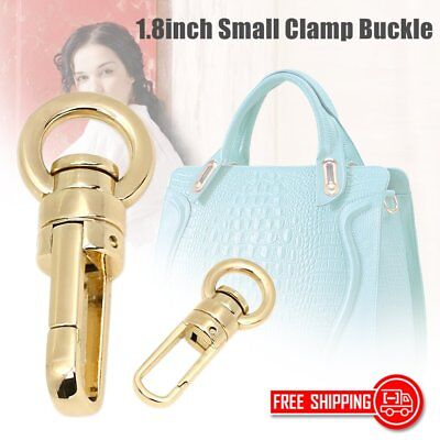 10pcs/lot Handbags Snap Hook 1.8inch Small Clamp Buckle Fastener Bag Hanger BTF