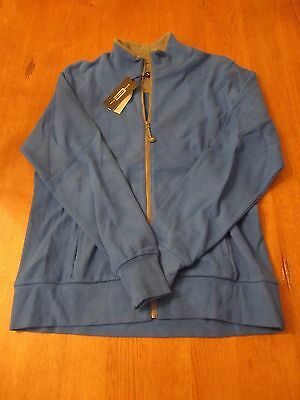 Womens Carnousie Golf Full Zip Up, NWT, L