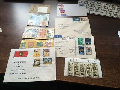 GREAT COLLECTION OF AFRICAN STAMPS AND FIRST DAY COVERS. MAINLY 1960s. LOOK!!!!