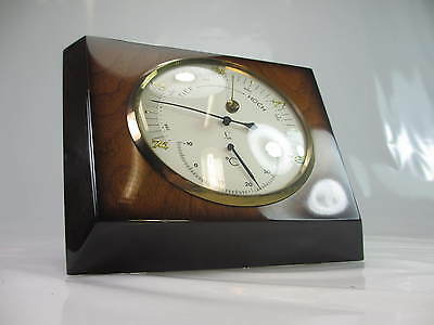 Art Deco Wetterstation 100% Funktion Fa. Lufft 1A Zustand Thermometer Barometer
