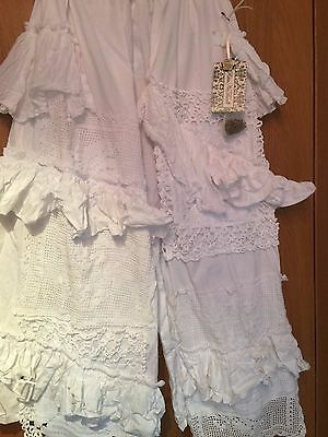 Ritanotiara Osfa Southern Gothic Wedding Bloomers Bride Pants Trousers Quirky