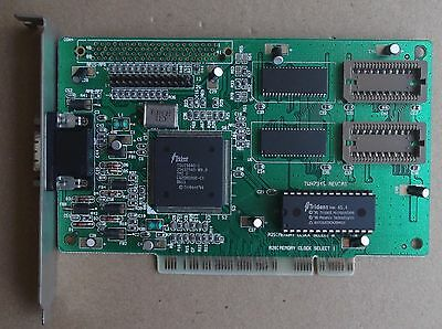 TWN 7345 TRIDENT PCI Video Card  Vintage