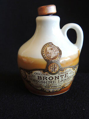 Bronte Yorkshire Liqueur Miniature Flagon With Stopper   (No Contents)