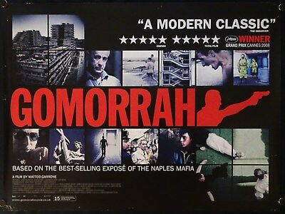Gomorrah (2008) UK QUAD