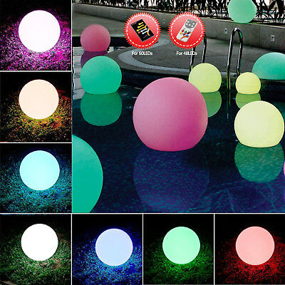 Innovia Floating LED RGB Mood Light 40cm waterproof for Pool Spa Pond + Remote