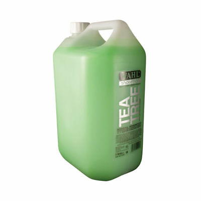 Wahl Tea Tree Horse Dog Shampoo - 5L FREE POSTAGE