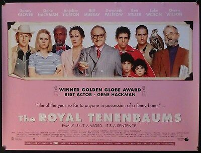 The Royal Tenenbaums (2001) UK QUAD