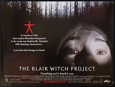 The Blair Witch Project (1999) UK QUAD