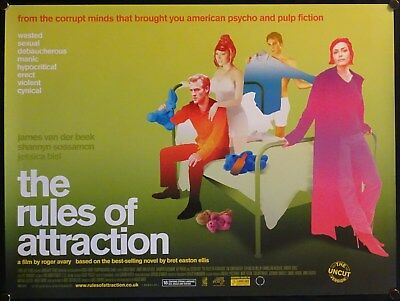 The Rules Of Attraction (2002) UK QUAD