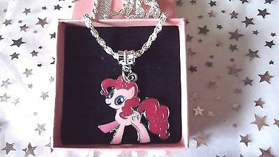 MY LITTLE PONY PINKY PIE   STRONG CHAIN,age 3,4,5,6,7,8 YEAR  GIFT BOX ,MAGIC