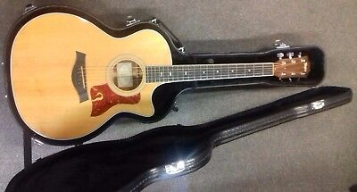 Taylor 414Ce Grand Auditorium Electro Acoustic - Natural, Usa, 2102, Used,+ Case