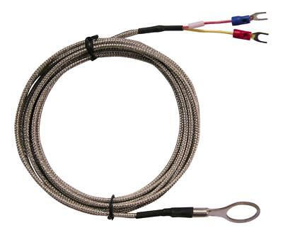 K Type 18mm Inside Diameter Washer CHT Thermocouple 3M SS Braided Cable