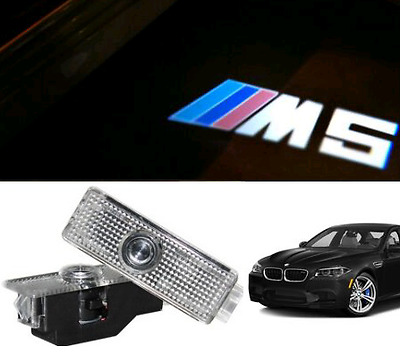Bmw M5 Logo Led Puddle Projector Ghost Laser Shadow Door Lights F10 F1 E60 E61
