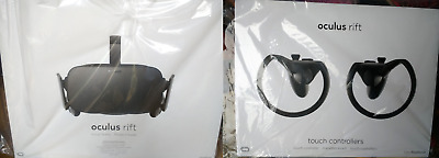 OCULUS Rift & Touch Bundle - Full Virtual Reality Experience at Home - SEALED