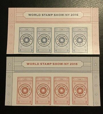World Stamp Show Forever Stamps