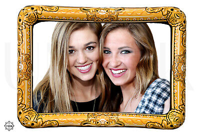 Giant Inflatable Photo Frame - 60x80cm Blowup Hen Party Selfie Photo Booth Prop