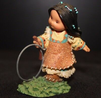"""Friends of The Feather """"Hoops And Sticks Make Six"""" Enesco 326453 - EC"""