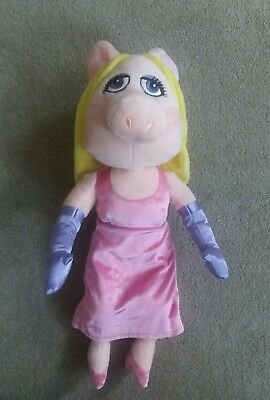 """The Muppets Miss Piggy Large 19inch Plush Beanie Disney Soft Toy 19"""""""