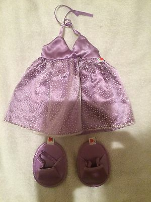 Designabear Purple Prom Outfit Brand New and Sealed