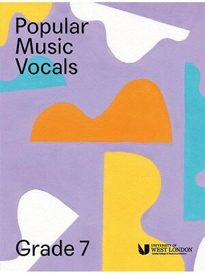 London College Of Music Popular Vocals Learn to Sing AUDITION VOICE BOOK Grade 7