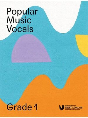 London College Of Music Popular Vocals Learn to Sing AUDITION VOICE BOOK Grade 1
