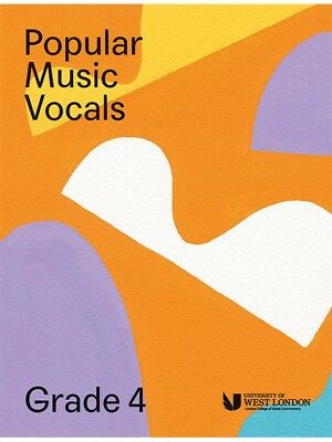 London College Of Music Popular Vocals Learn to Sing AUDITION VOICE BOOK Grade 4