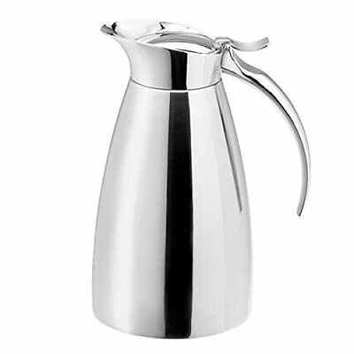 Elia Slimline Thermal Jug SCV 0.6ltr | 3 Cup Thermal Jug, Stainless Steel