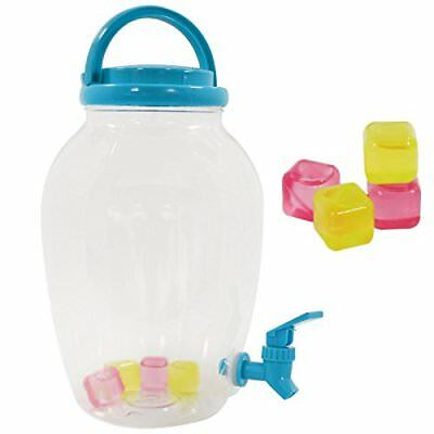4.4 Liter Plastic Screw Top Drinks Beverage Serving Dispenser Tap Juice Water