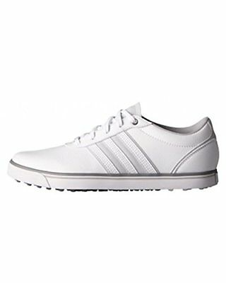 adidas Adicross V, Chaussures de Golf Femme, Blanc (White/Clear Grey/Iron Metall