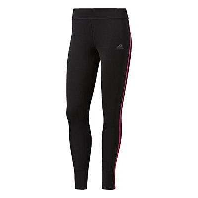 adidas Response Collant Longue Femme, Black/Shock Pink, FR : M (Taille Fabricant