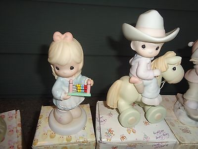 Lot of 15 Precious Moments ENESCO figurines in Boxes mint conditon LOOK!
