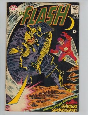 The Flash 180 & 181   1st appearance of the Samuroids!  NEW CW Villain 1968 Lot!