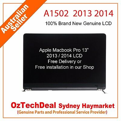 "Apple Macbook Pro 13"" Retina 2013-2014 A1502 Complete Lcd Screen Assembly"