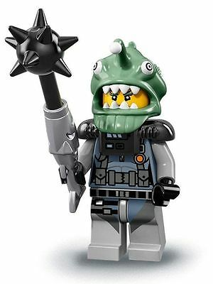 LEGO Mini figurine THE NINJAGO MOVIE SHARK ARMY ANGLER Neuf et complet