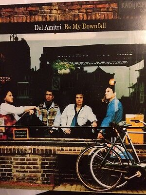 "Del Amitri - Be My Downfall 10""  vinyl single With Poster Ex + Con"
