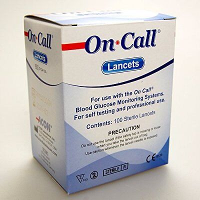 200 Sterile Universal lancets by On Call Plus CE0197 professional or self