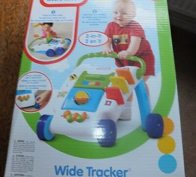 Little Tikes - Wide Tracker - Activity Walker - Childs Toy - Suitable 6-36 Mths
