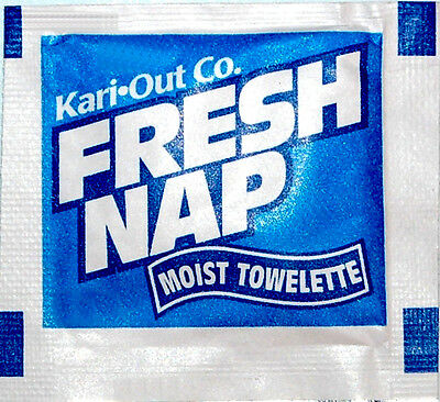 Fresh Nap Disposable Scented Moist Wet Hand Face Towels Dinner Napkins Wipes