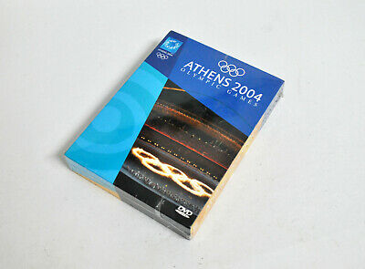 OLYMPIC GAMES ATHENS 2004 SEALED 4 DVD Pack Official Release