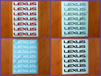 LEXUS IS 200 250 300 350 C ES GS 430 Sport Edition decal sticker logo RE Fits