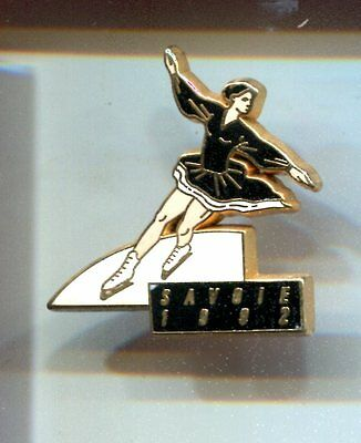 Rare Pins Pin's .. Olympique Olympic Albertville 1992 Patinage Arthus B. ~16