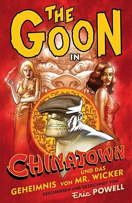 THE GOON HC #7 deutsch CHINATOWN Cross Cult ERIC POWELL Hardcover